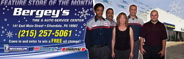 Feature Bergey's Tire & Auto Service Center - Silverdale, PA