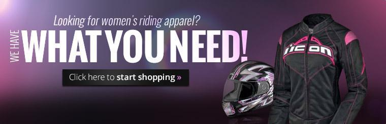 Looking for women's riding apparel? We have what you need! Click here to start shopping.