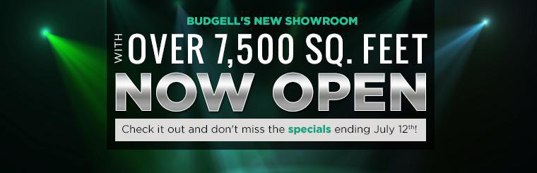 Our new showroom with over 7,500 square feet is now open! Check it out and don't miss the specials ending July 12th!