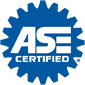 ASE Certified.