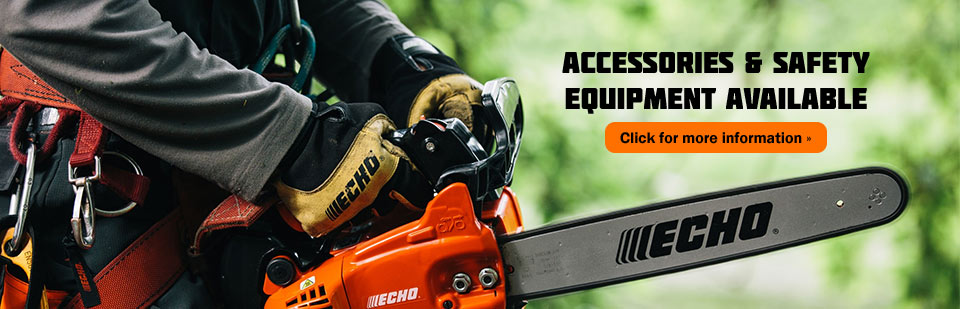 Accessories & Safety Equipment Available: Click here for more information!