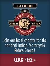 Join our local chapter for the national Indian Motorcycle Riders Group! Click here.