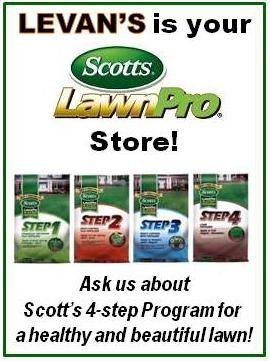 LeVan's is your Scotts Lawn Pro store!