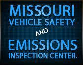 Missouri vehicle safety and emissions inspection center.