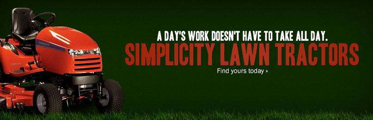 Stripe like a pro with Simplicity! Click here to view the mowers online.