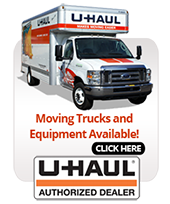 Moving Trucks and Equipment Available. Click Here.