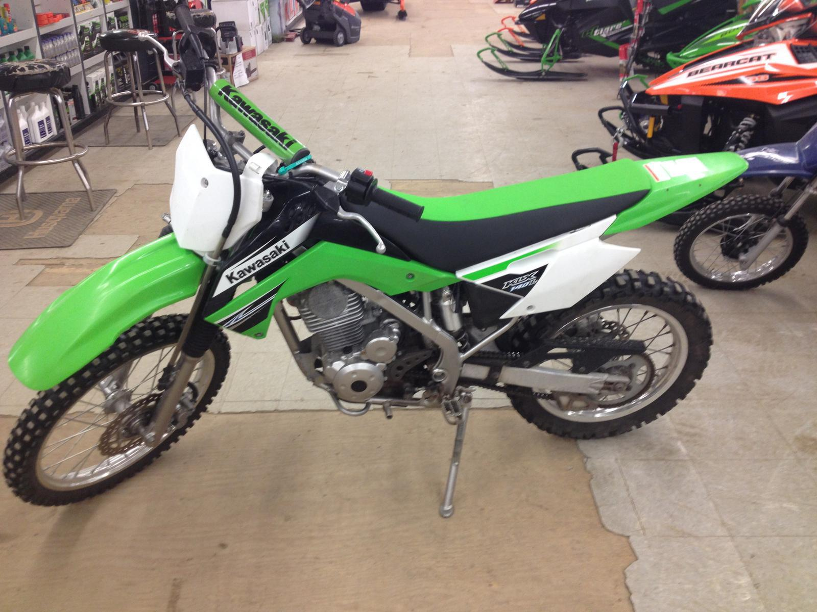 2011 Kawasaki Klx 140l For Sale In South Londonderry Vt Brown