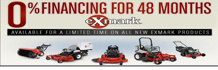 Click here to view the new Exmark mowers.