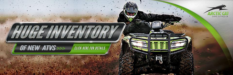 Check out the 2014 Arctic Cat sport and utility ATVs and side x sides.