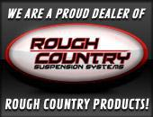 We are a proud dealer of Rough Country products!