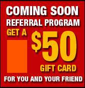 Referral Program - Coming Soon!
