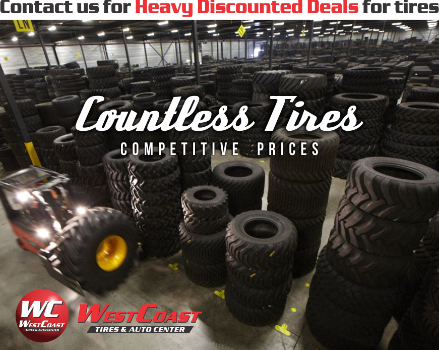 COUNTLESS TIRES
