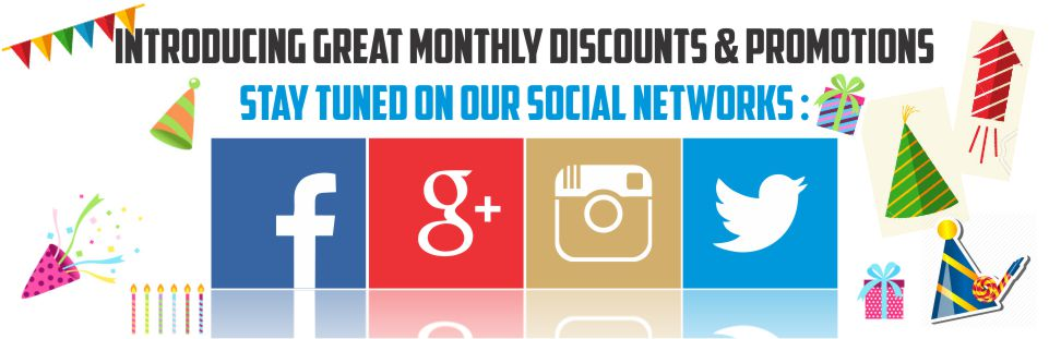 Monthly Discounts