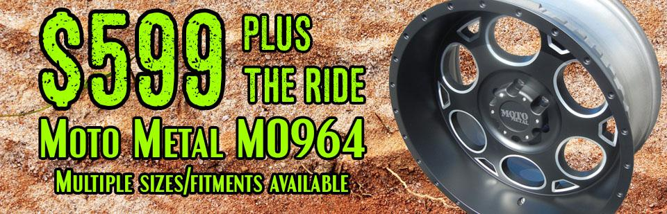 MO964 599+ the ride multiple sizes/fitments available
