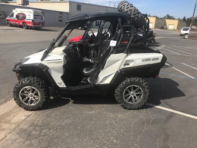 2013 can-am commander limited 1000 for sale in chico, ca   chico