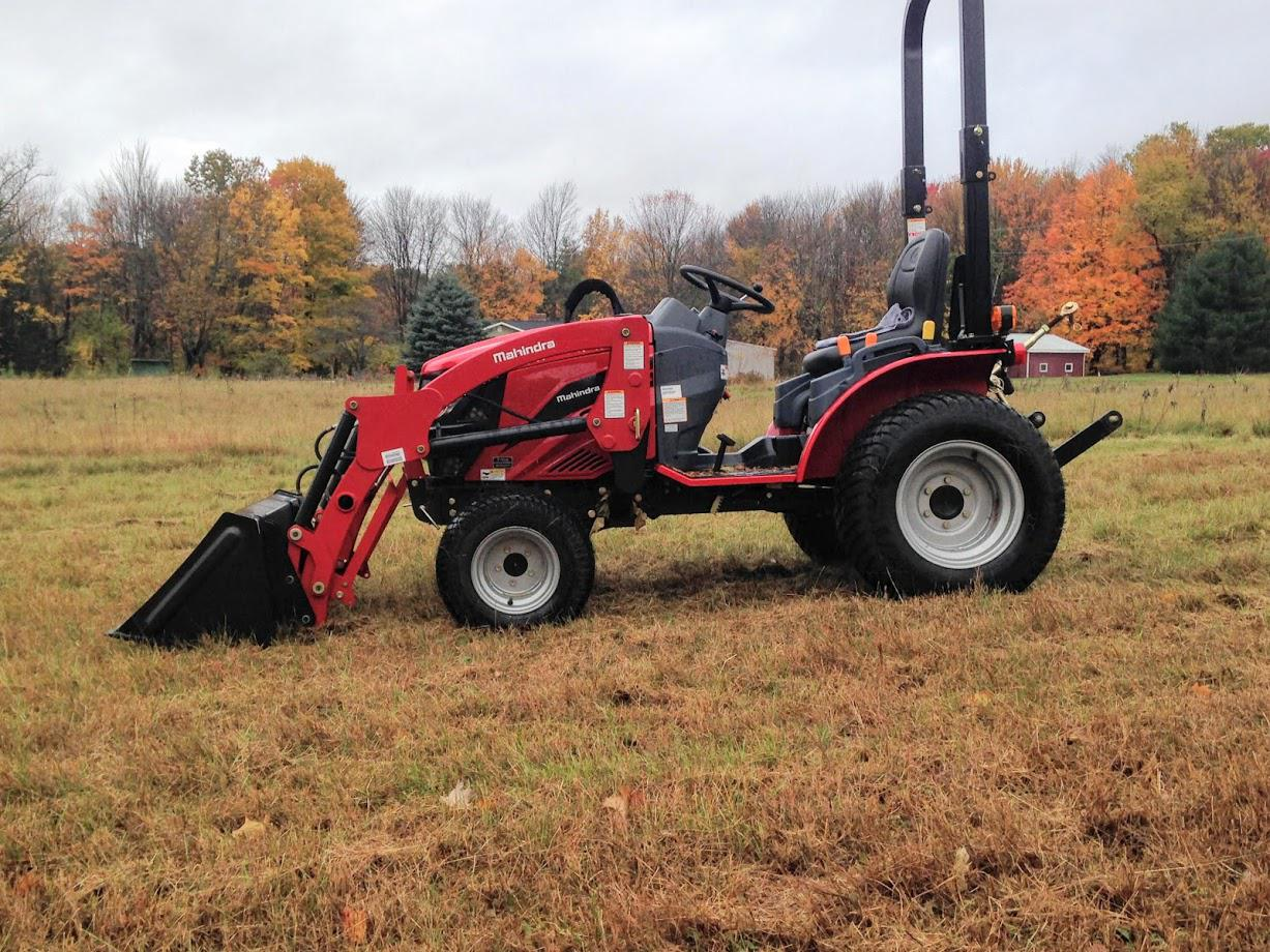 Subcompact Tractor from Mahindra Essex Essex, VT (802) 872-2666