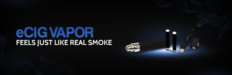 eCig Vapor: Feels just like real smoke. Click here for details.