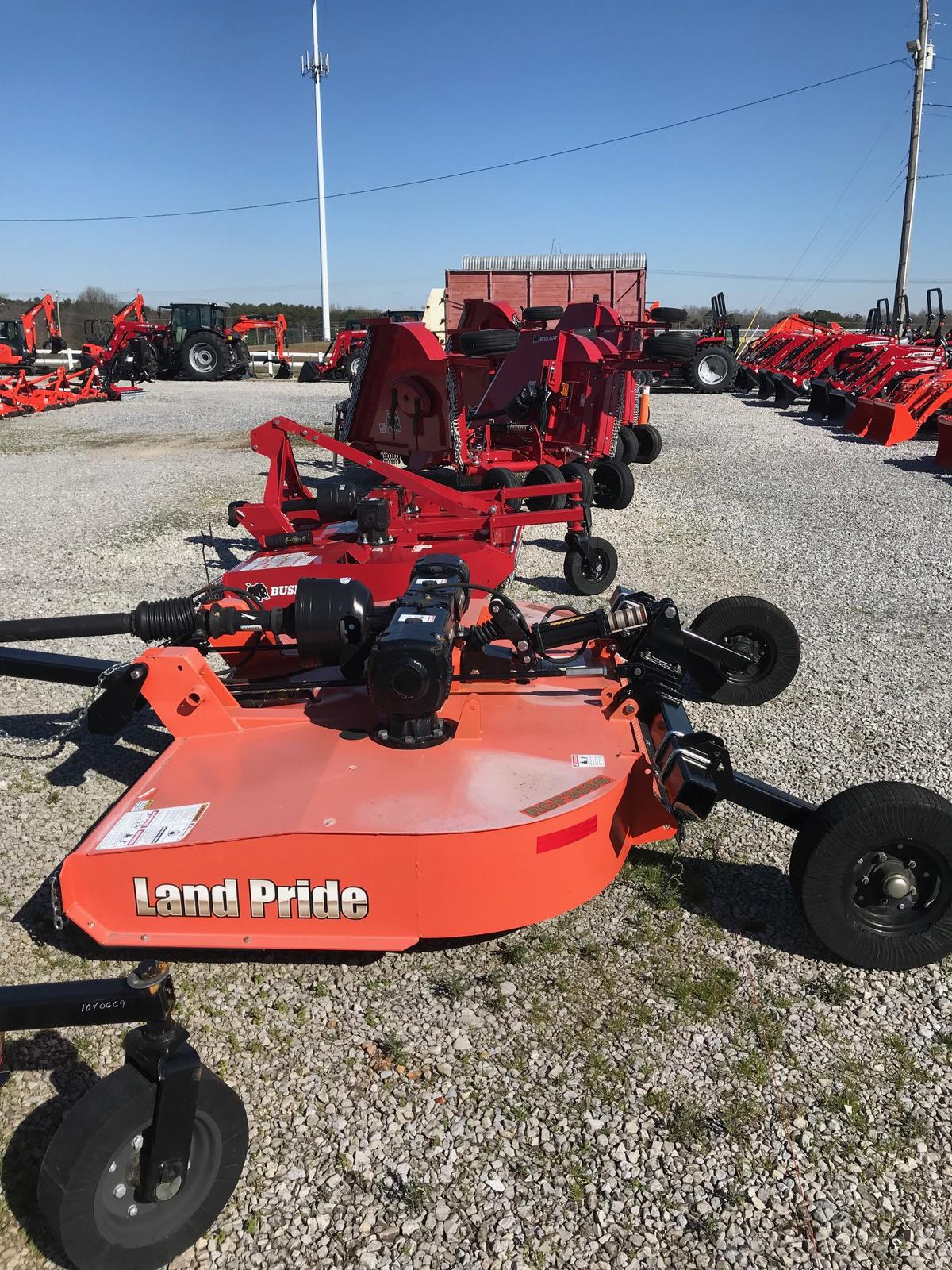 New Inventory from Bush Hog, Woods and Land Pride Tyler Brothers