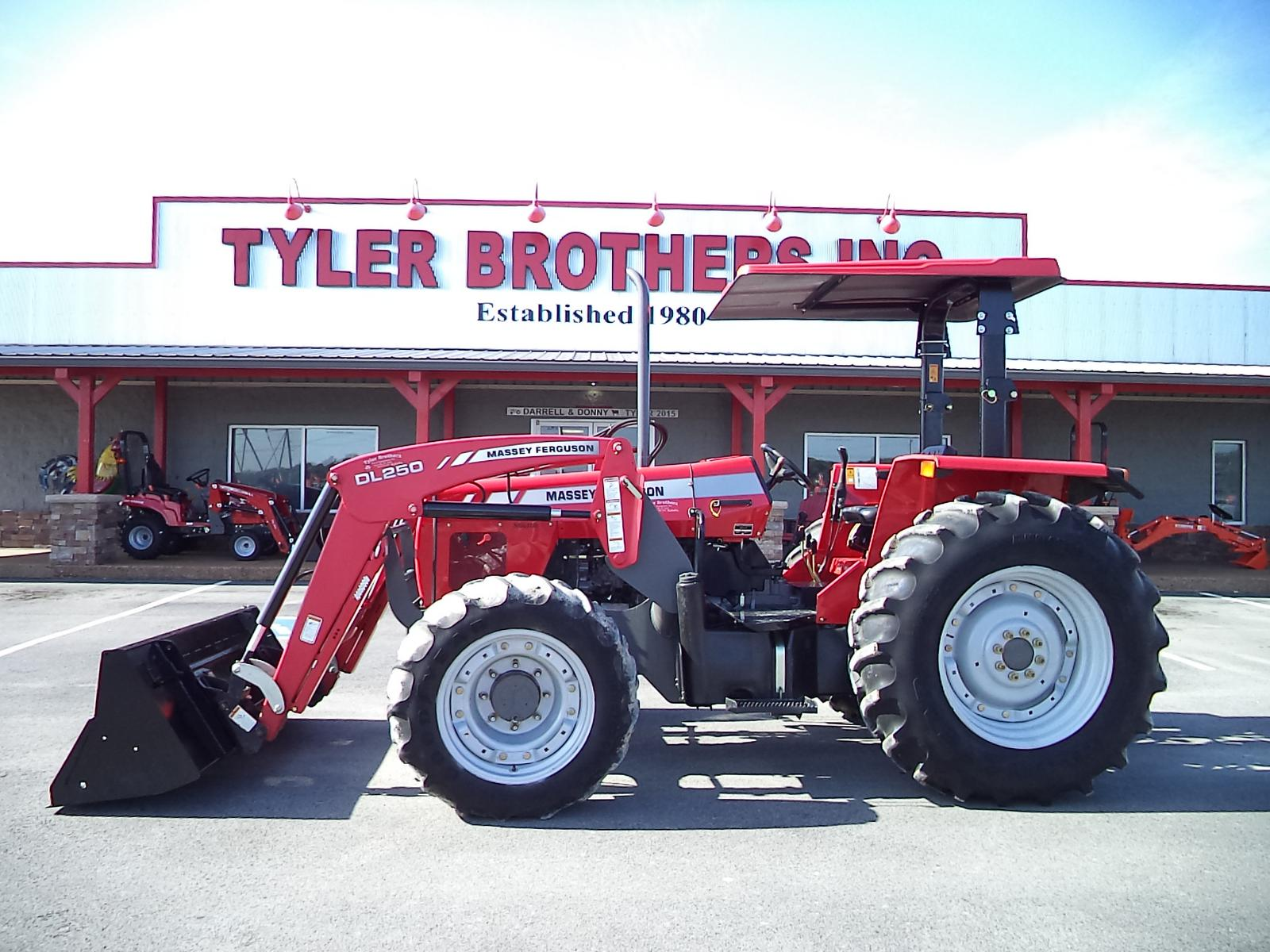 Tractors and Disc Mower from Massey Ferguson Tyler Brothers