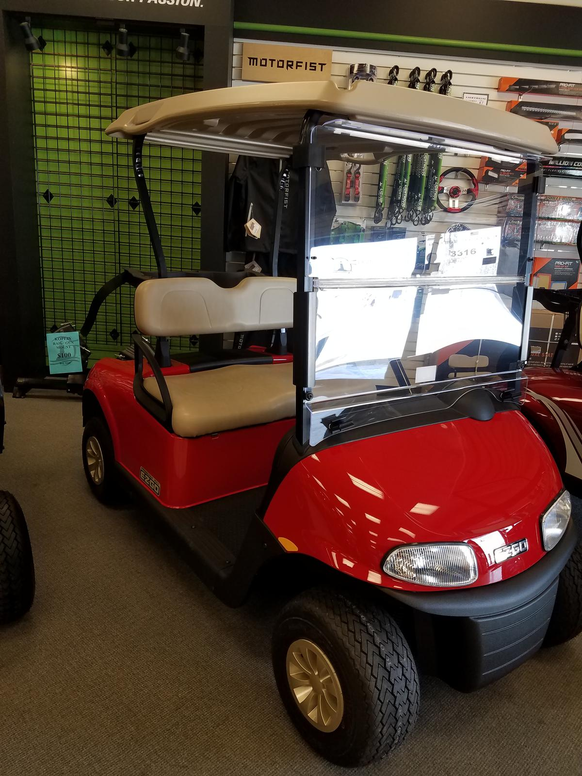 Inventory from Hustler Turf Equipment and E-Z-GO Lighthouse