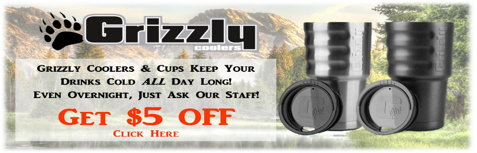 Grizzly Grip Cup - $5 Off Purchase