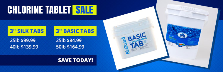 Chlorine Tablet Sale: Click here to contact us.