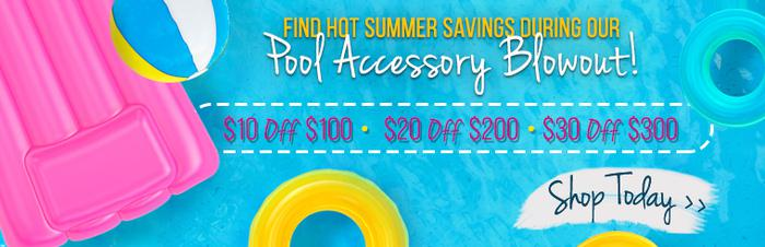 Pool Accessory Sale! Rafts, Floats & More!