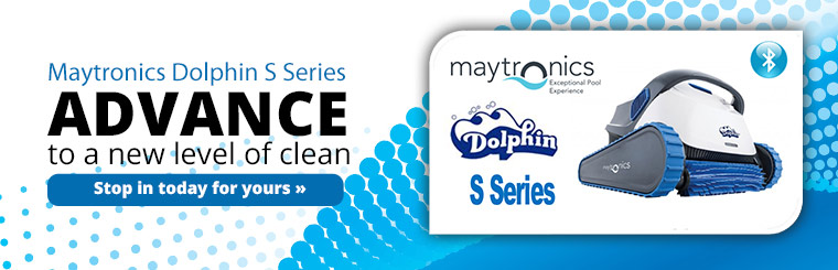 Maytronics Dolphin S Series: Advance to a new level of clean! Click here to contact us.