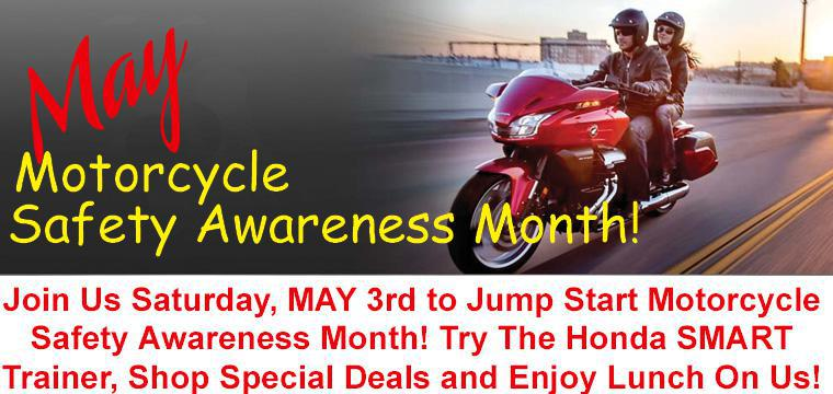 May is Motorcycle Safety Awareness