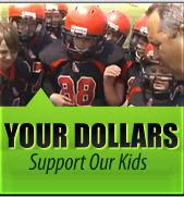 Your dollars support our kids!