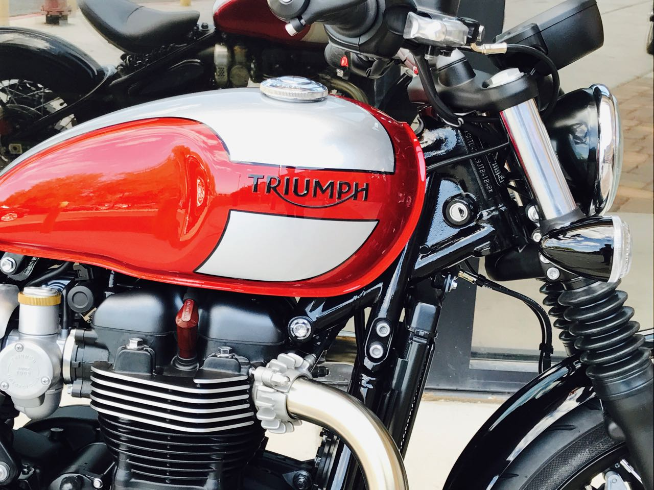 2018 triumph bobber two-tone for sale in las vegas, nv. freedom