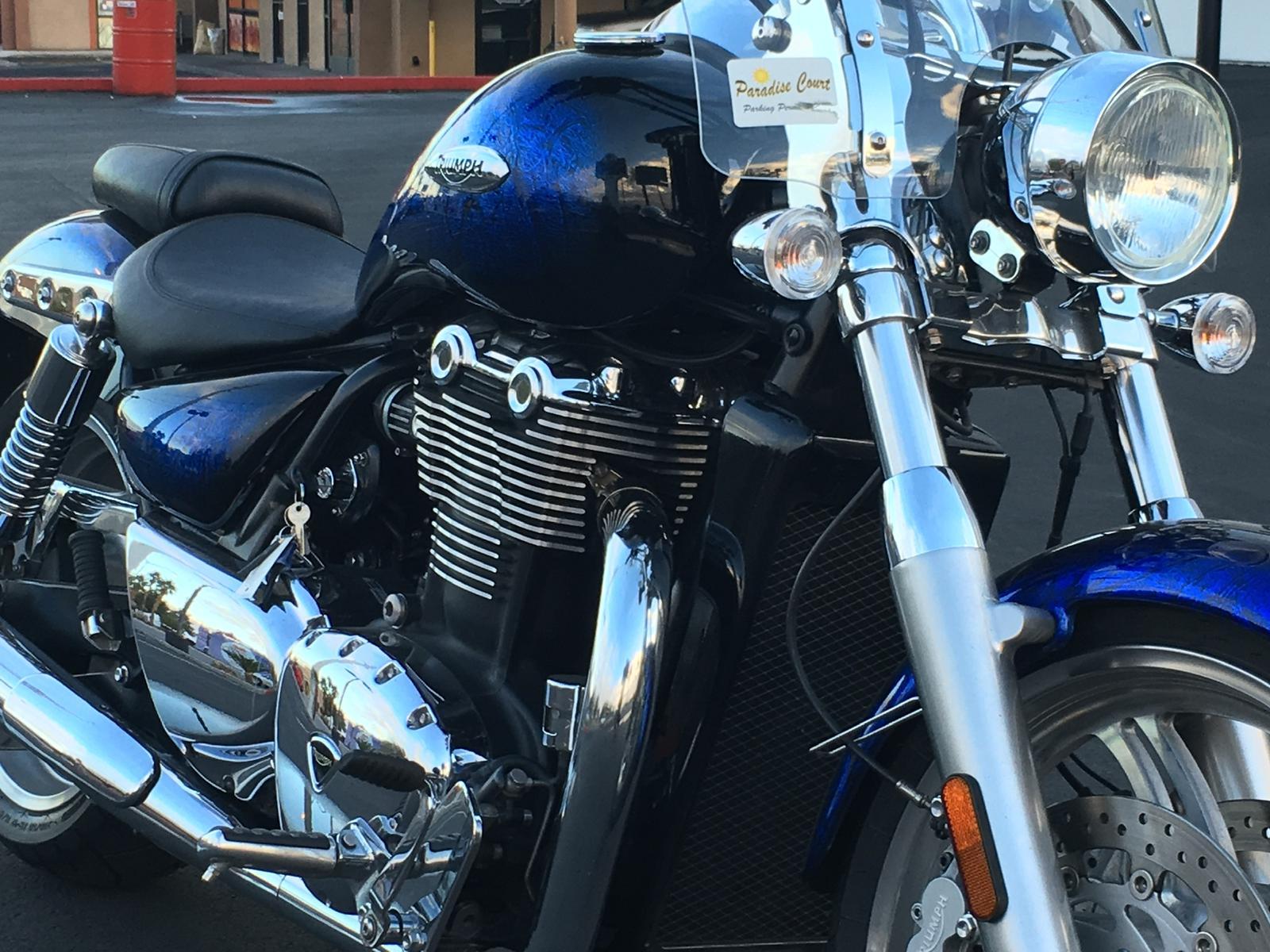 2013 Triumph Thunderbird Abs For Sale In Las Vegas Nv Freedom Euro