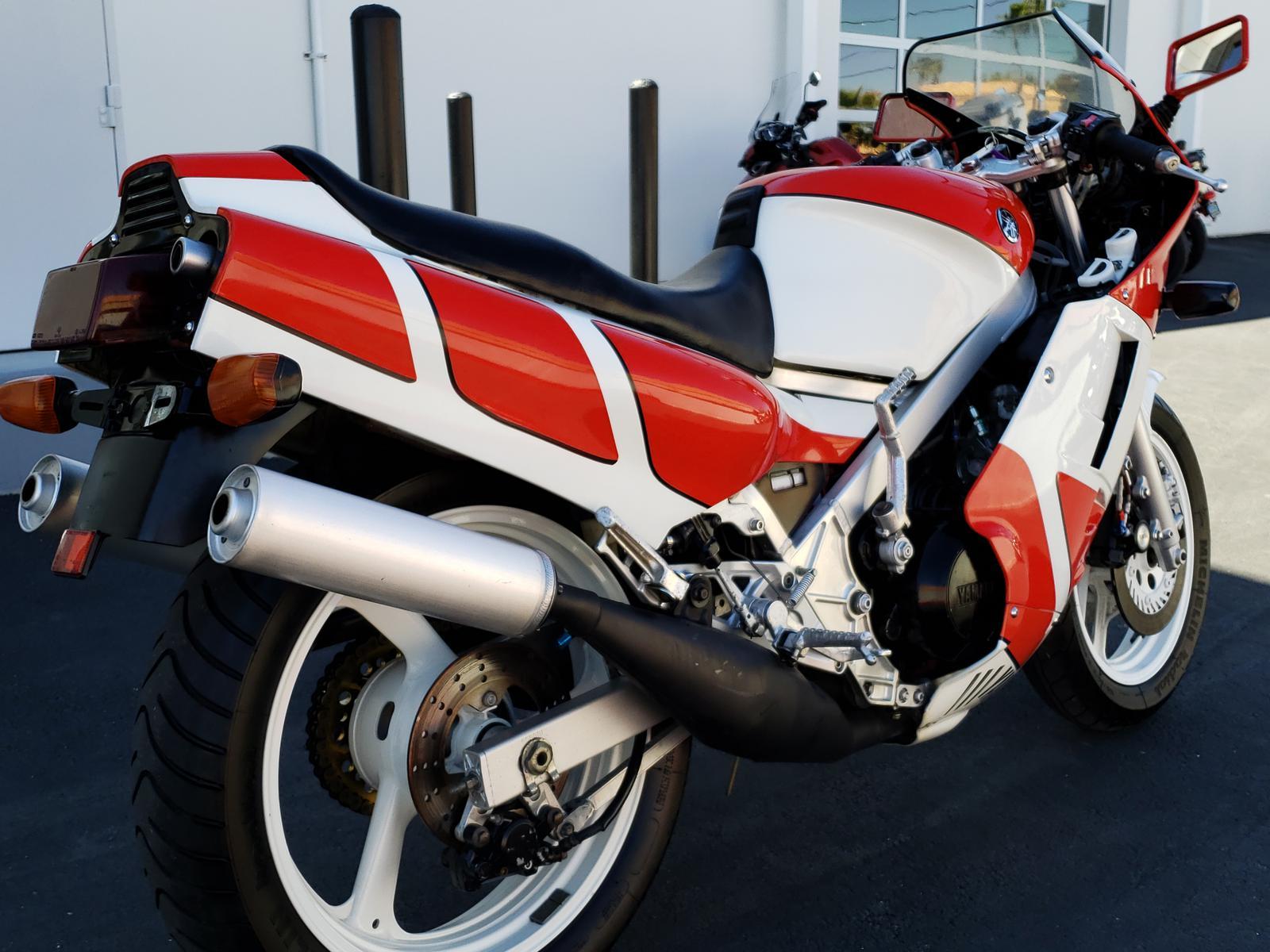 1984 Yamaha RZ500