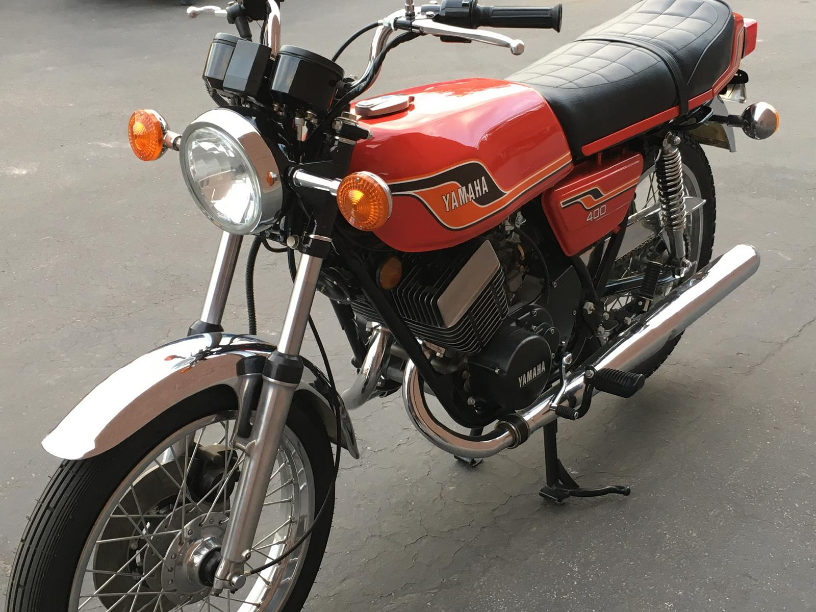 1976 Yamaha RD 400 for sale in Las Vegas, NV  Freedom Euro Cycle