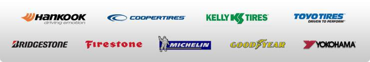 We carry products from Hankook, Cooper, Kelly, Toyo, Bridgestone, Firestone, Michelin®, Goodyear, and Yokohama.