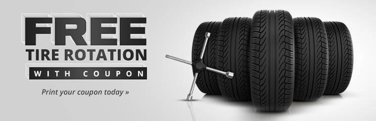Click here to get your coupon for a free tire rotation!