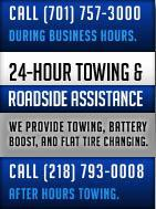 24-Hour Towing and Roadside Assistance