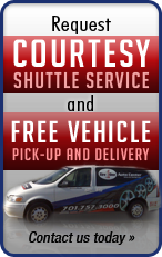 Request Courtesy Shuttle Service