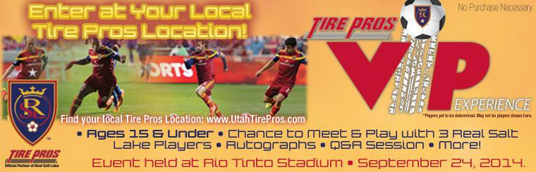 Real Salt Lake Tire Pros VIP Experience