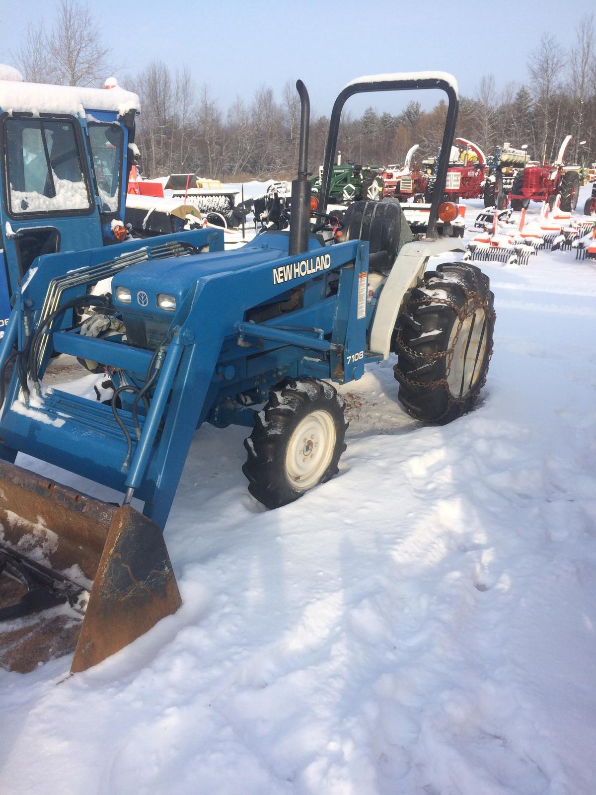 Ford New Holland >> Ford New Holland 1520