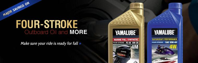 Major Savings on Four-Stroke Outboard Oil and More: Make sure your ride is ready for fall.