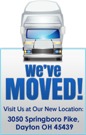 We've moved! Visit Us at Our New Location: 3050 Springboro Pike, Dayton OH 45439.