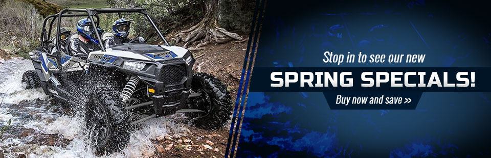 Spring Specials: Buy now and save!