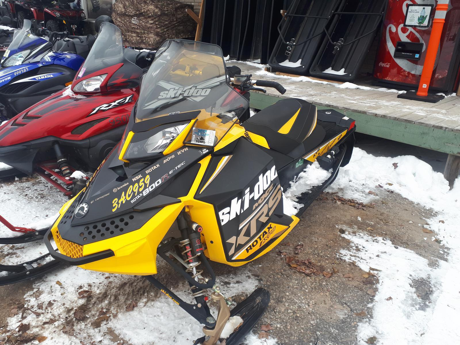 2007 And 2012 Snowmobile From Ski Doo The Cove