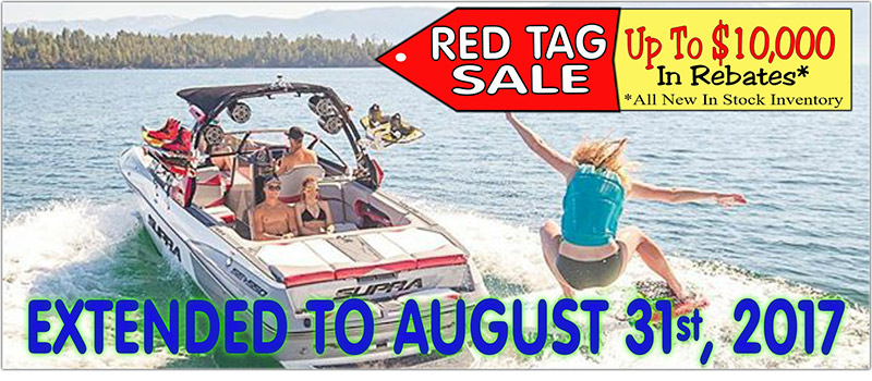 Red Tag Sale. Up to $10,000 in rebates* *All New In Stock Inventory. Extended to August 31st, 2017