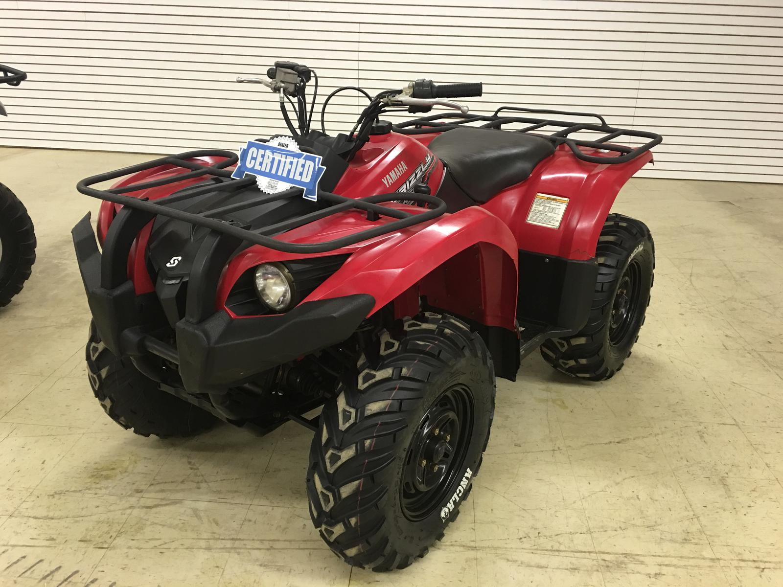 Yamaha Grizzly 450 >> 2014 Yamaha Grizzly 450 Auto 4x4 Efi Ind Suspension For Sale In