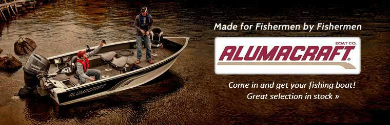 Alumacraft Fishing Boats: Great Selection In Stock!