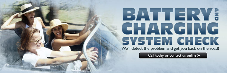 Stop in at Kaarbo's Auto Repair in Duluth, MN for your Battery and Charging system check.