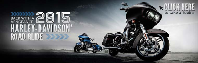The 2015 Harley-Davidson® Road Glide is back with a vengeance. Click here to take a look.
