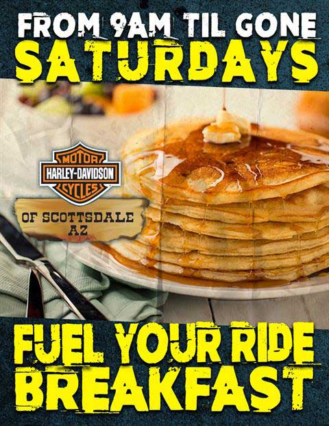 Fuel Your Ride Breakfast: August 19th